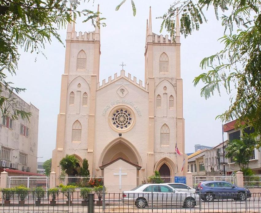 Католическая церковь Святого Франциска Ксавьера в Малакке
