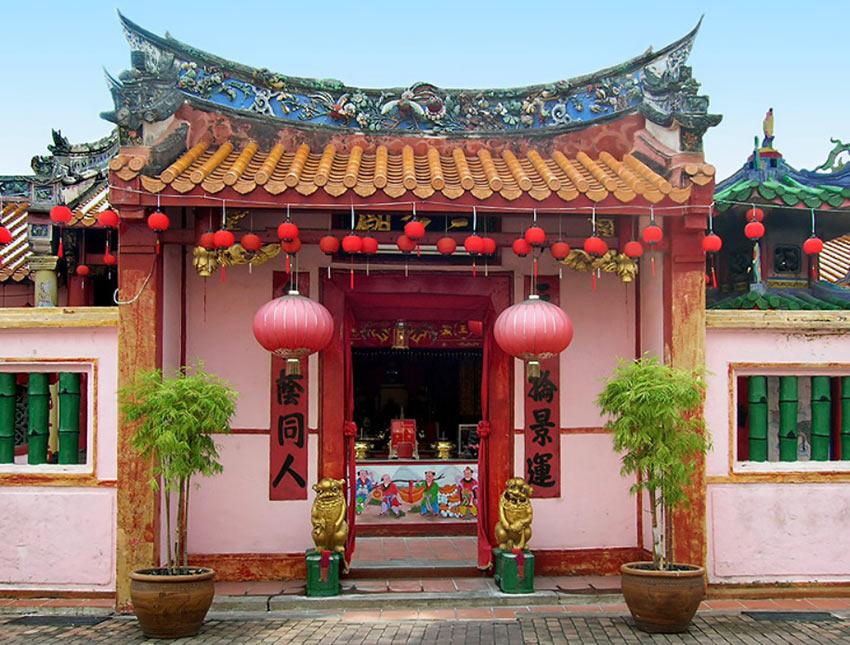 Китайский стиль в архитектуре старой Мелакки