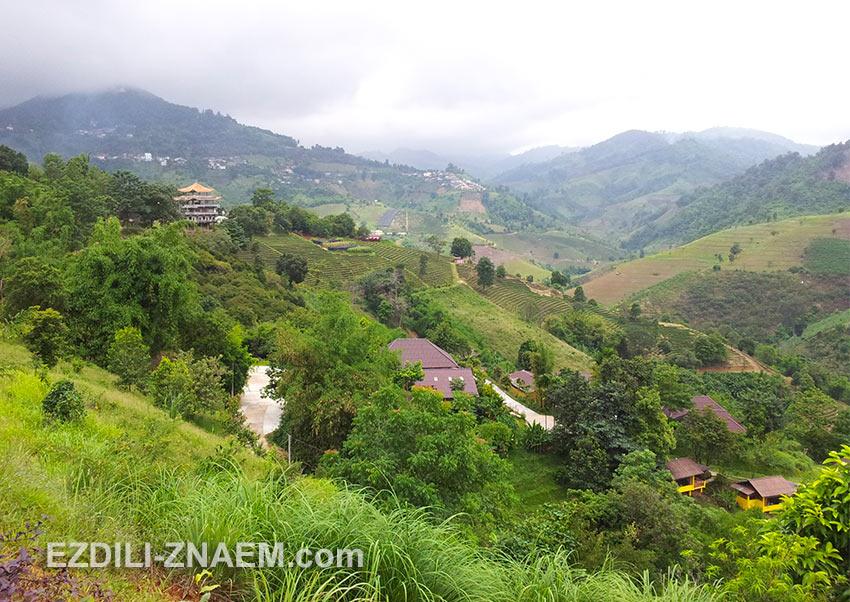 Долина Мае Салонг на севере Таиланда