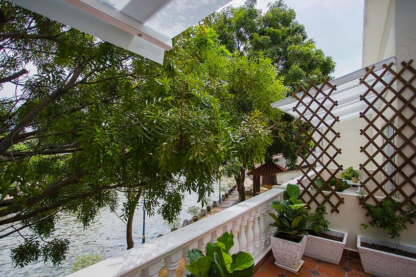 Вид с балкона в отеле Aava Malacca