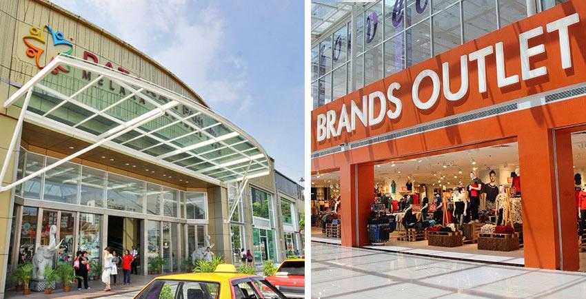Торговый центр Dataran Pahlawan в Малакке