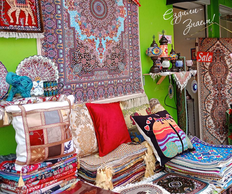 Разные сувениры и текстиль