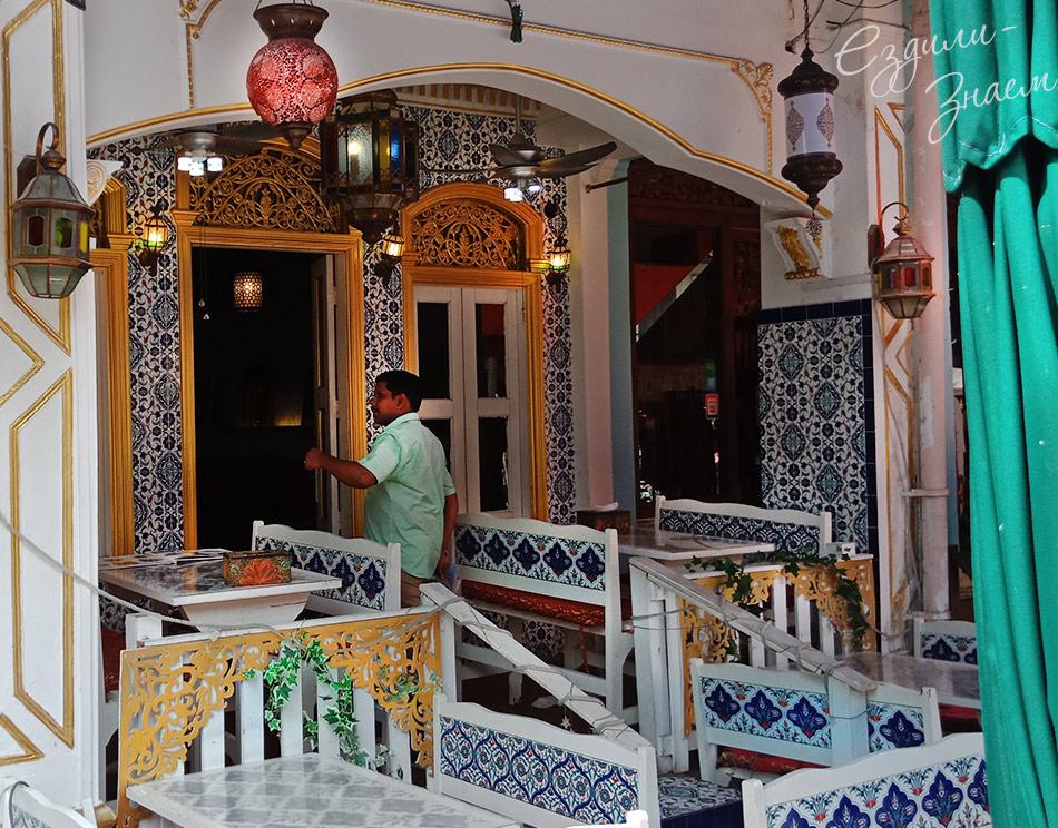 Арабский ресторанчик