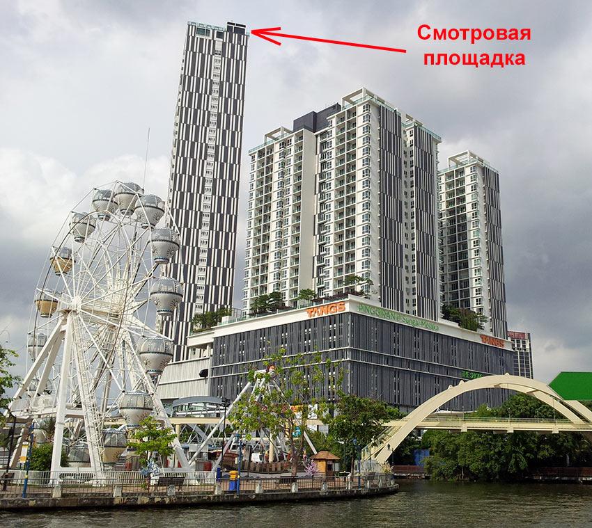 Смотровая площадка небоскреба The Shore Sky Tower в Малакке