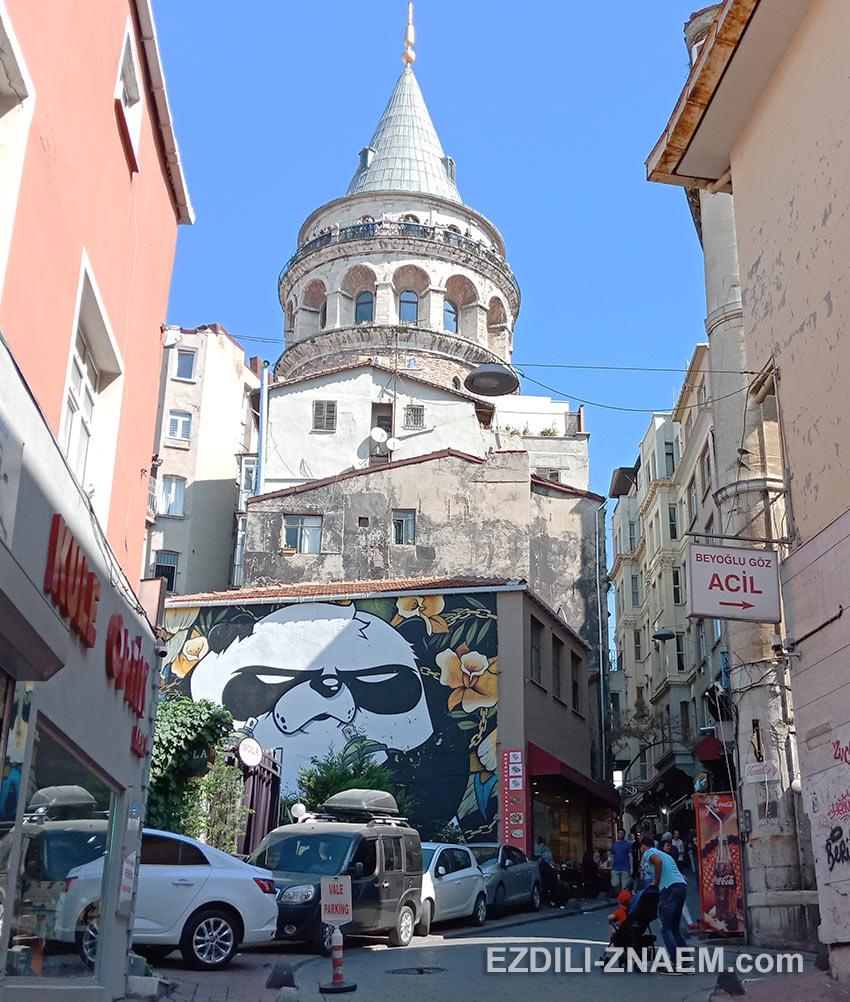 Прогулка до Галатской Башни в Стамбуле