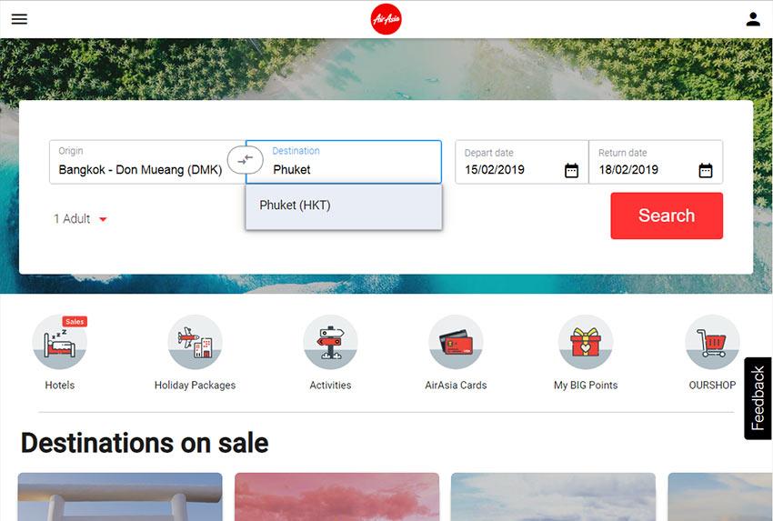Купить авиабилет AirAsia: с чего начать