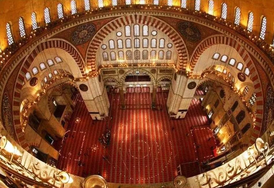Мечеть Сулеймания в Стамбуле
