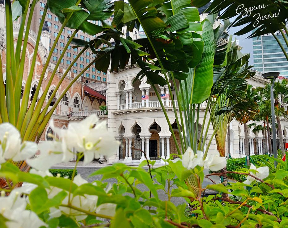 Куала-Лумпур очень зеленый город