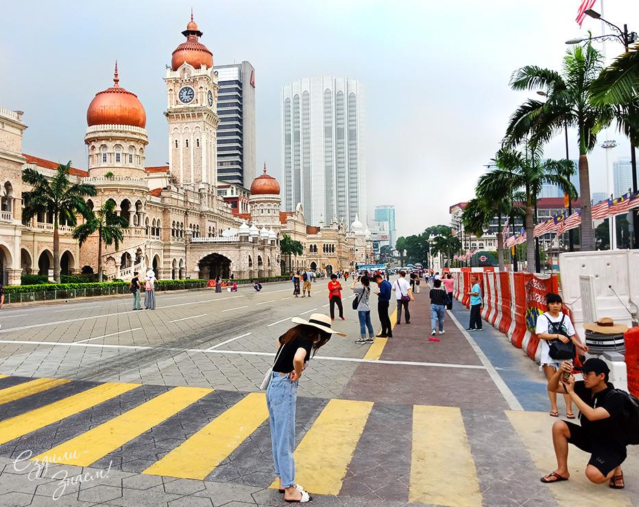 Дворец Султана в Куала-Лумпур