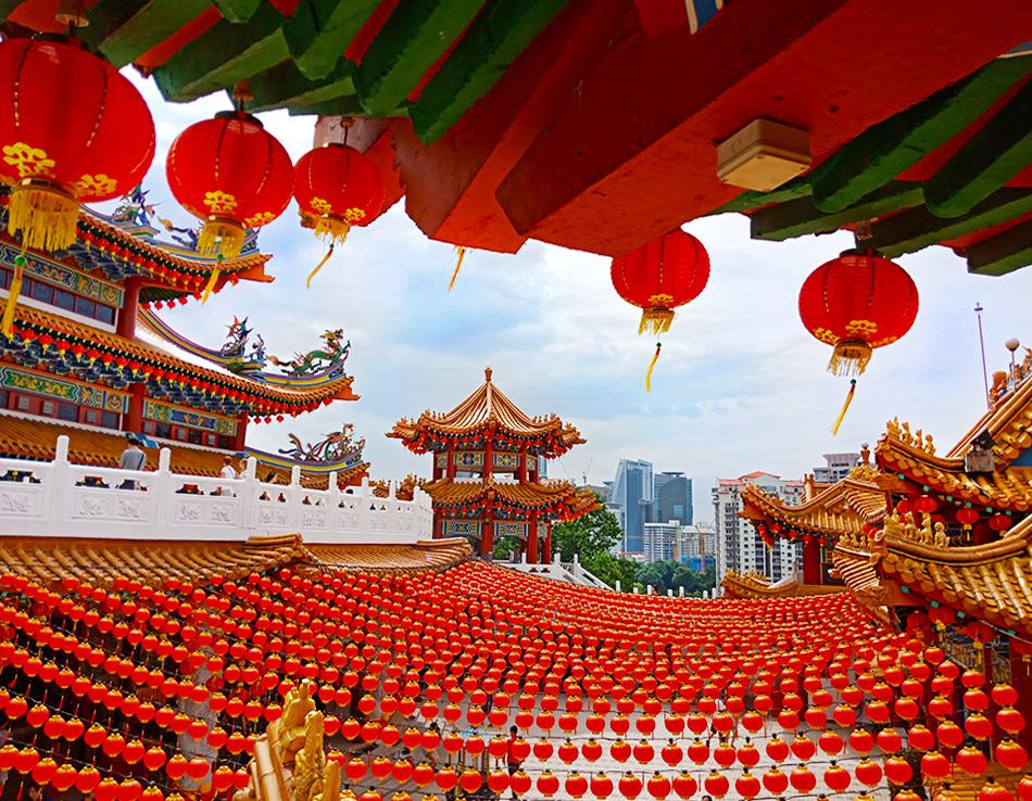 Китайский храм Тянь Хоу - самый красивый в Азии