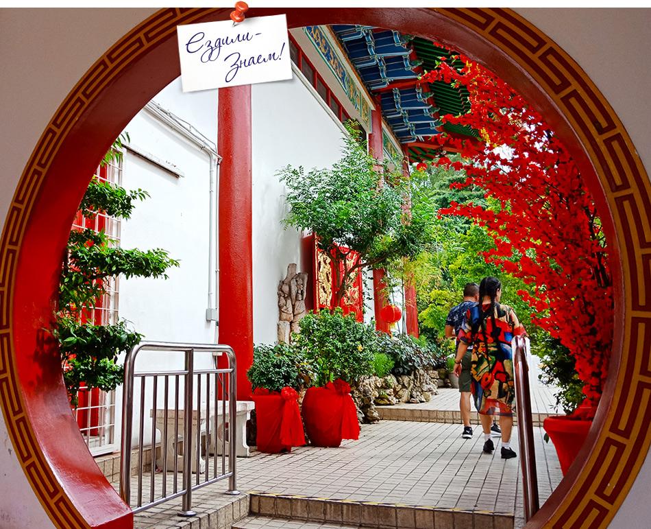 Тянь Хоу - буддийский китайский храм в Куала Лумпур