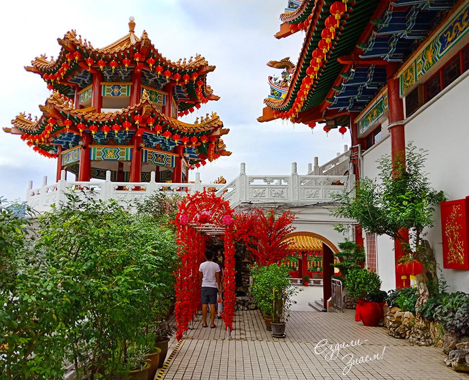Тянь Хоу - китайский храм, Куала Лумпур (Малайзия)