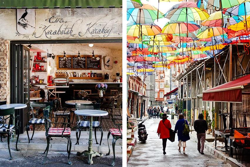 прогулка по кварталам в районе Каракей, Стамбул