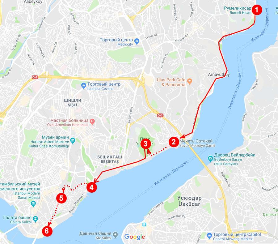 Что посмотреть в Стамбуле: - маршрут третьего дня в Стамбуле