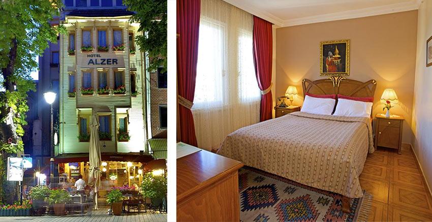 "отель ""Alzer"" в районе Фатих, Стамбул"