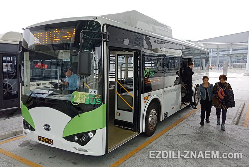 Бесплатный автобус от Macau Ferry до терминала HZMB в Макао