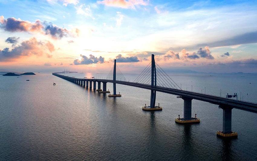 Достопримечательности Макао: новый мост Гонконг - Чжухай - Макао через море