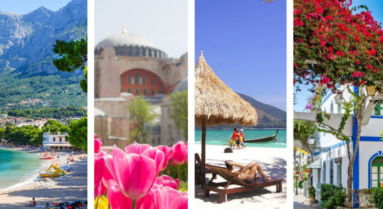 10 лучших мест, куда поехать отдыхать в апреле
