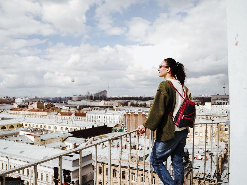 Экскурсия по крышам Санкт-Петербурга