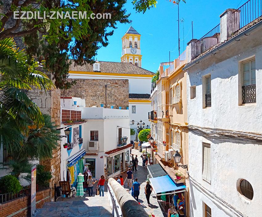 улочки исторического квартала Марбельи