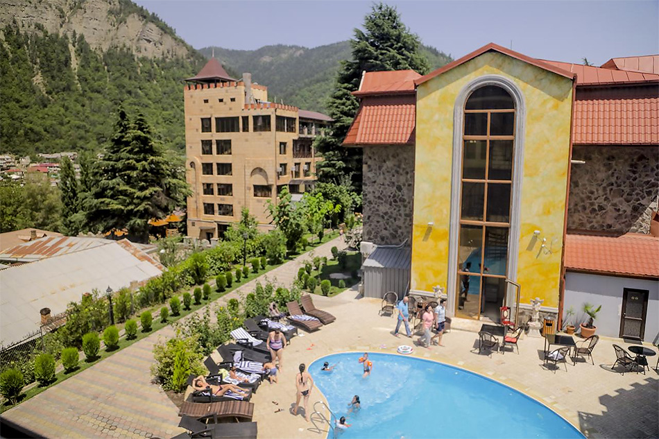 Отель Borjomi Palace Health & Spa Center