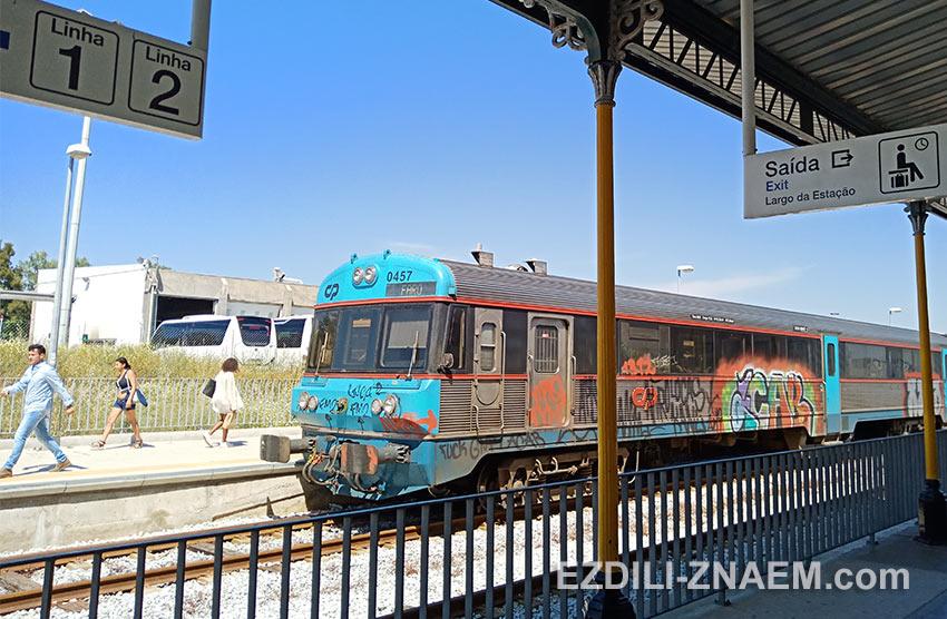 Поезд из Фару в Портимао