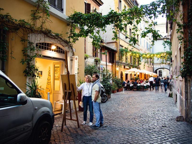 Экскурсия - квест по Риму