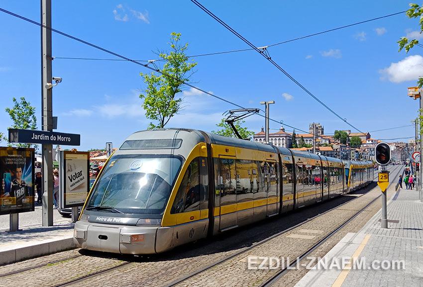 Трамвай / метро в Порту