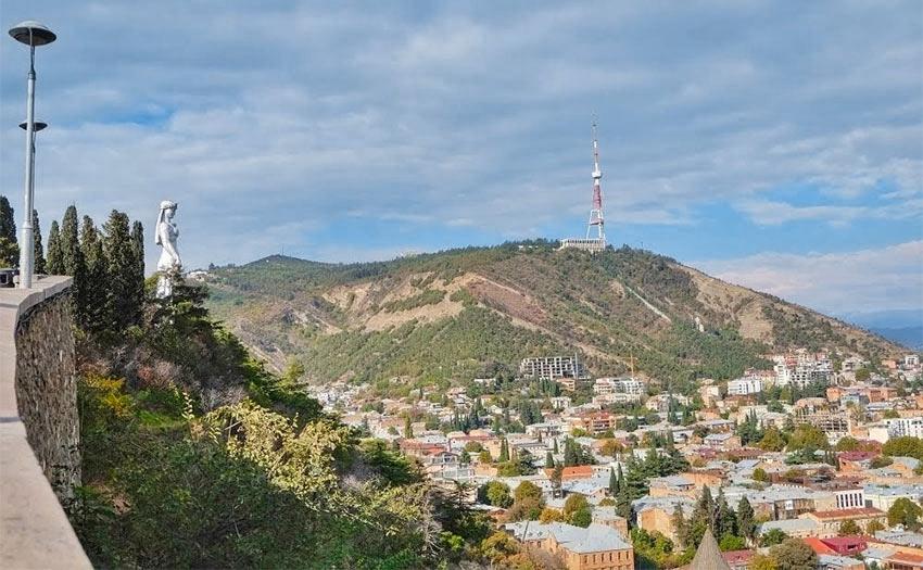 День 1 - прогулка по Тбилиси