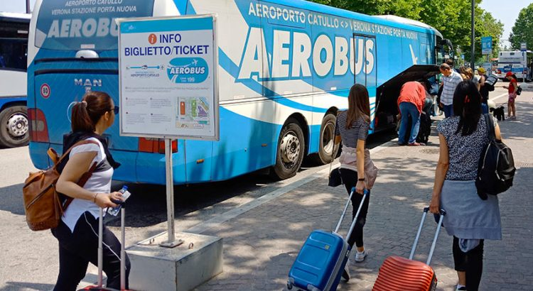 Как добраться из аэропорта Вероны в город или до вокзала