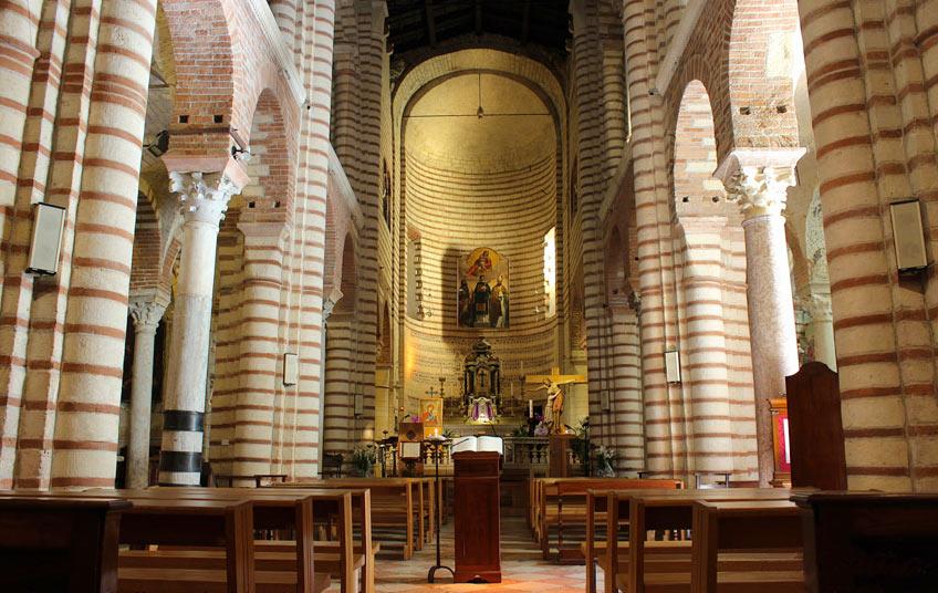Церковь Сан-Лоренцо в Вероне