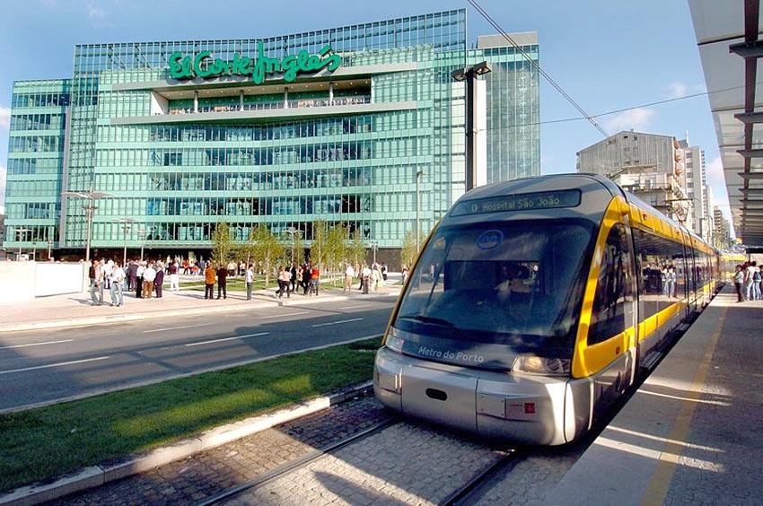 Гипермаркет El Corte Ingles в Порто