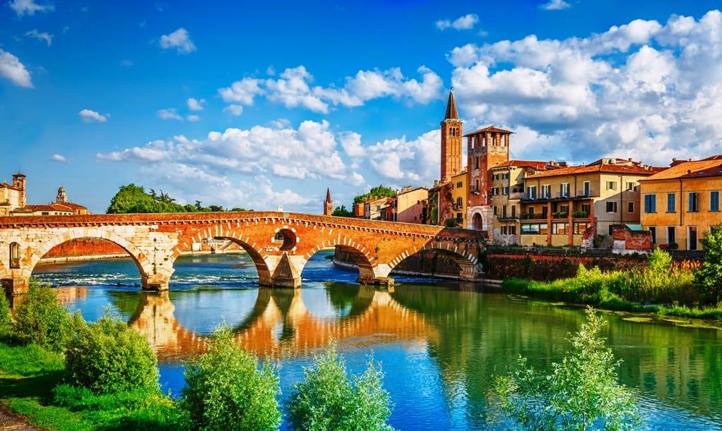 Мост Пьетра в маршруте по Вероне за 1 день