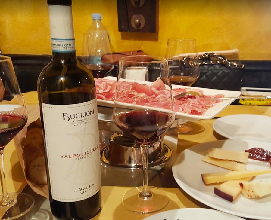 Ресторан L'Osteria del Bugiardo в Вероне