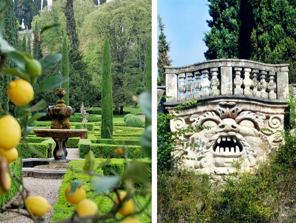 Парк Джусти в Вероне