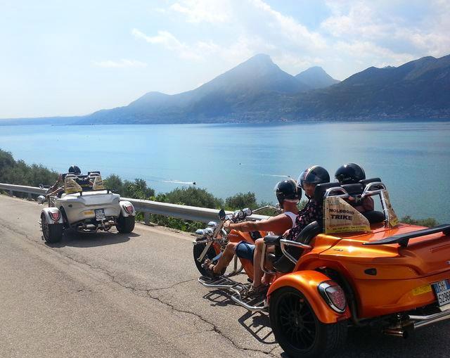 Экскурсия на трайке вокруг озера Гарда