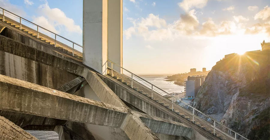 Смотровая площадка мост Аррабида в Порту
