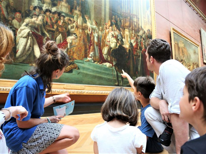 Экскурсия в Лувр для детей