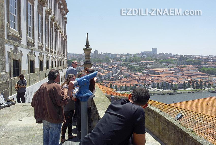 Смотровая площадка у кафедрального собора, Порту