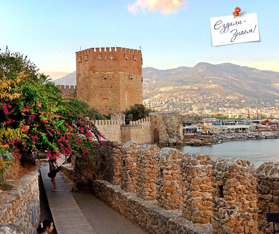 Гуляем вдоль старой крепостной стены