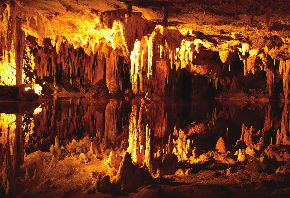 На фото пещера Дамлаташ