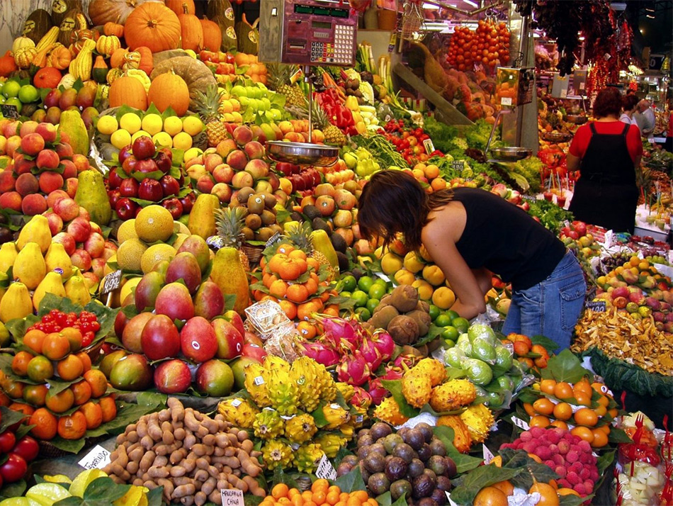 Рынок в Алании