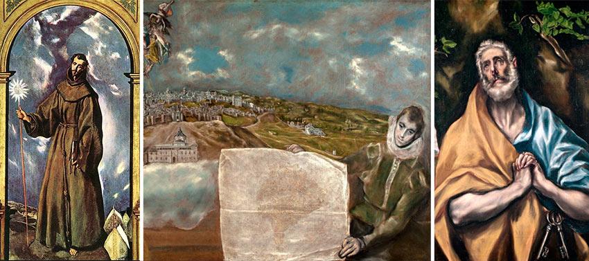 Самые значимые картины в музее Эль Греко в Толедо