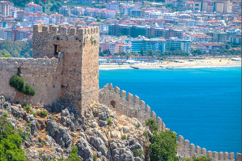 Старая крепость. Виды на город и море