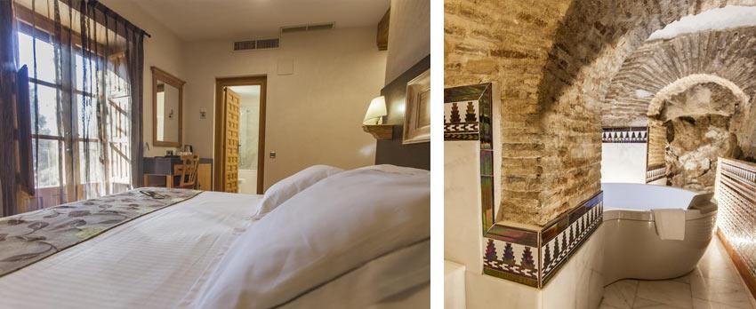 """комната и подземная ванная комната отеля """"Эль Греко"""", Толедо"""