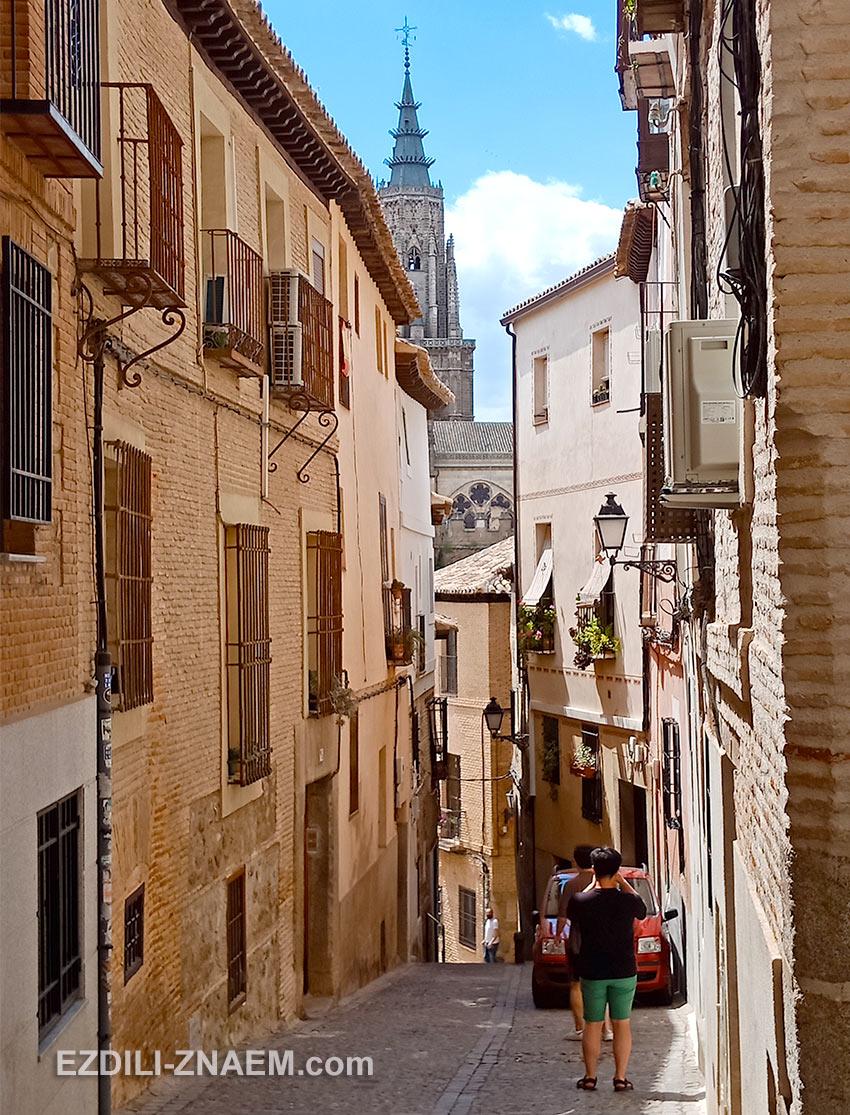 улочки древнего Толедо располагают к неспешным прогулкам