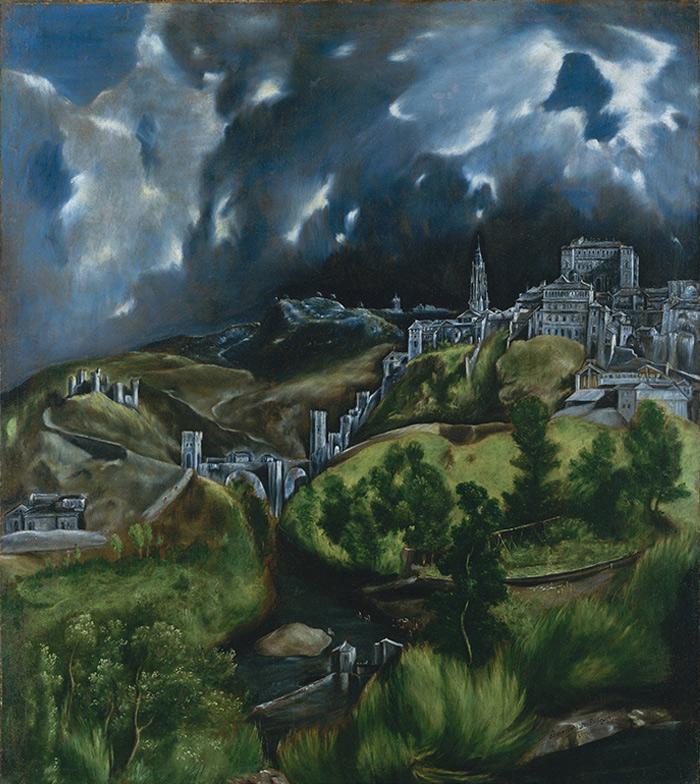 Загадочная картина «Вид Толедо», где Эль Греко изобразил Толедо ночью