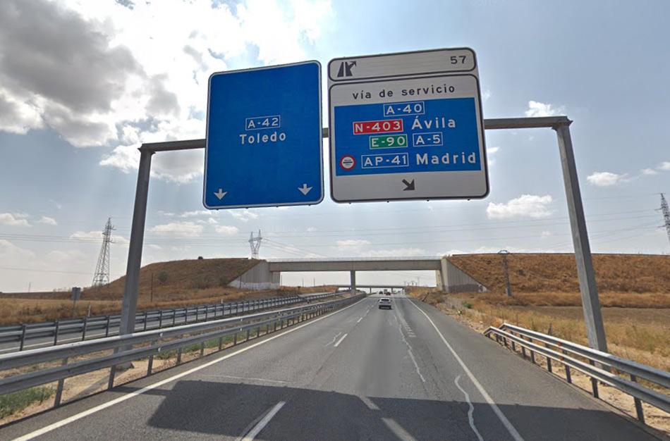 Трасса A-42, как добраться из Мадрида в Толедо на машине