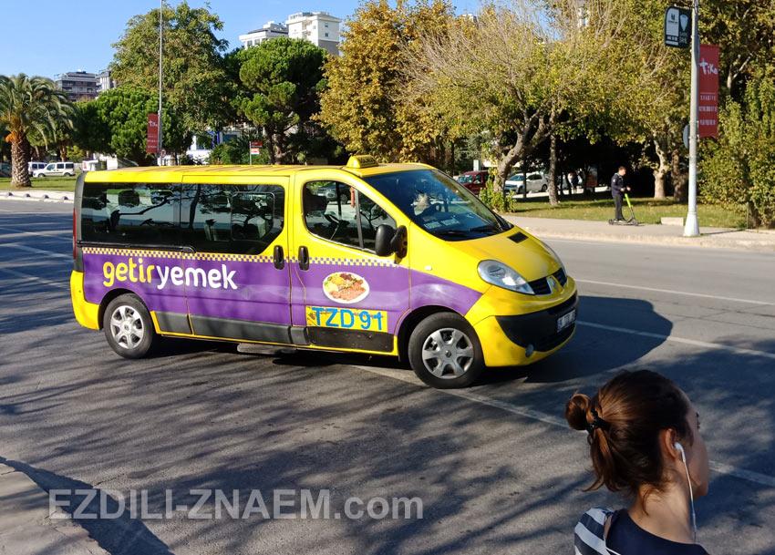 Маршрутки-долмуши - транспорт в Стамбуле для продвинутых туристов