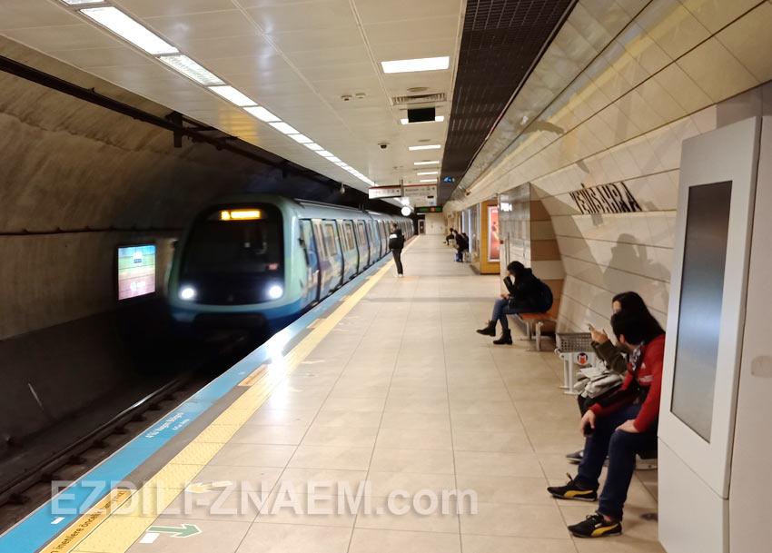"Станция метро ""Yenisahra"", Стамбул"
